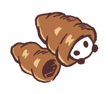 ゆるかわいいパンダのイラスト描きます SNSなどのアイコン、ワンポイントに!