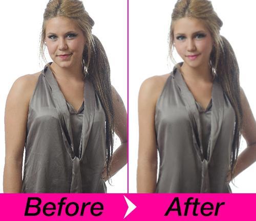 お写真を修正、補正します 宣材写真、画像補正・修正・加工をします。