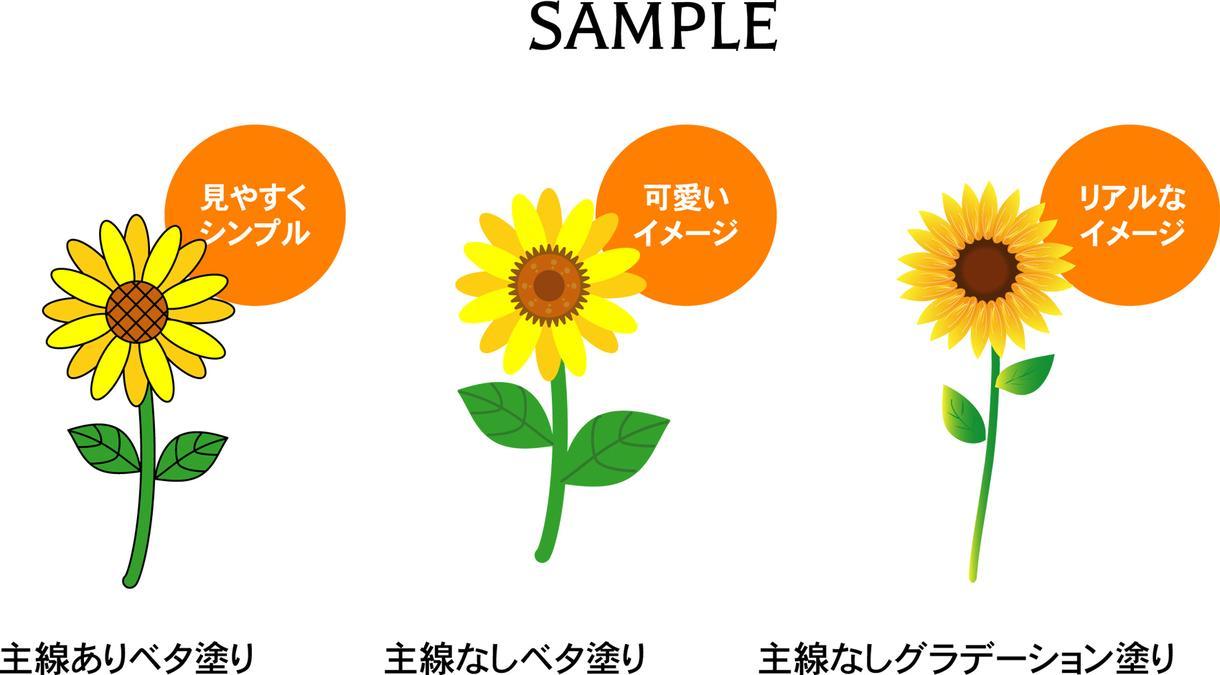 Illustratorで植物・果物イラスト作ります 拡大・縮小してもきれいなaiデータのイラスト作成!