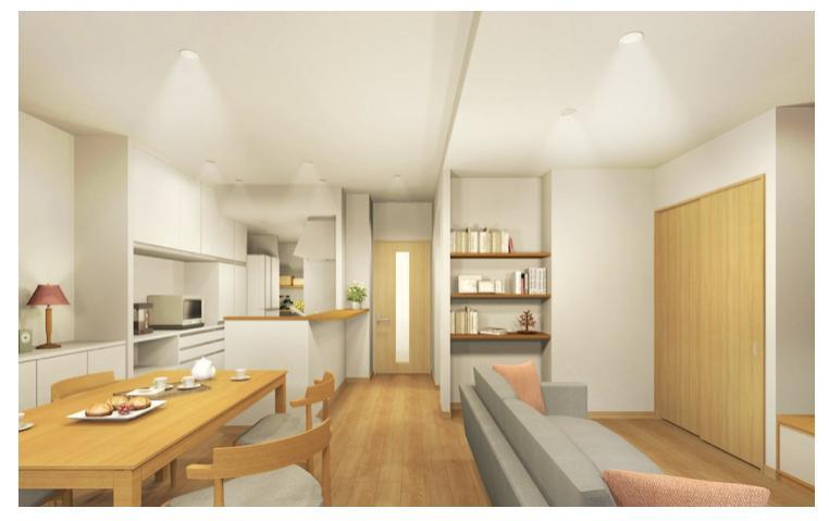 3Dパースでお部屋の模様替えをご提案します DIYや家具の買い替えの計画を女性建築士がお手伝い イメージ1