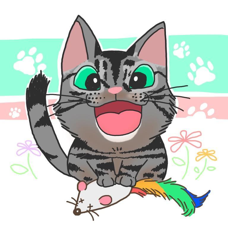 ペットを可愛くイラストに!アイコンなどにいかがですか?(´˘`*)