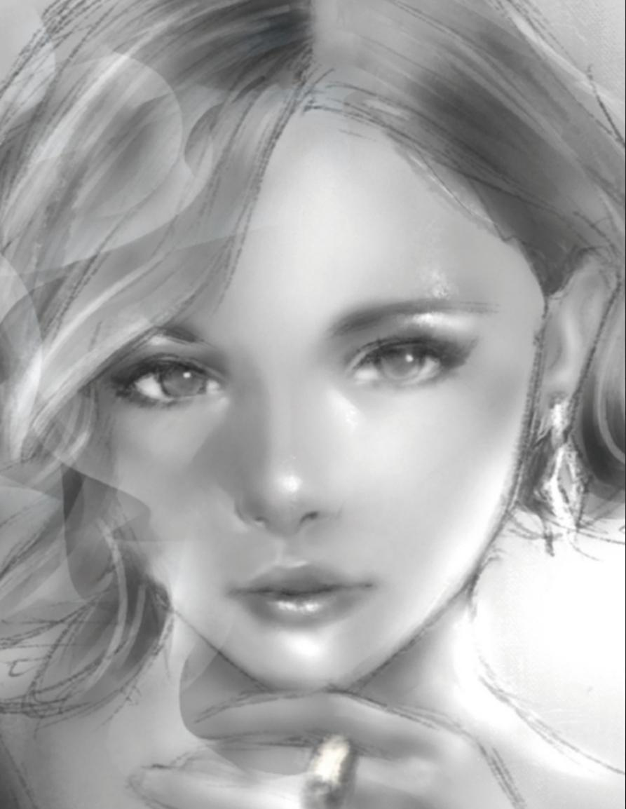 バストアップのリアルイラスト描きます 観賞用、アイコンに。かっこいい・綺麗・かわいい、なんでも!