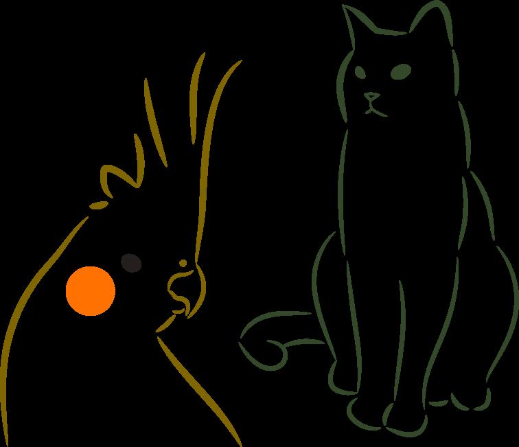 ペットの写真をシンプルなイラストにします 大切な人へのプレゼントやアイコンにおすすめ! イメージ1