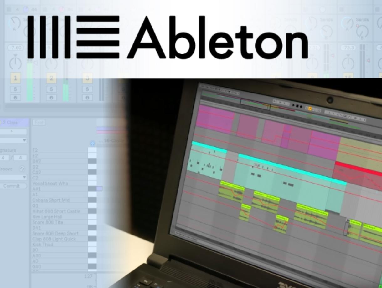 Ableton liveの使い方をレッスンします DAWやAbletonliveの使い方のお悩みを解決します。