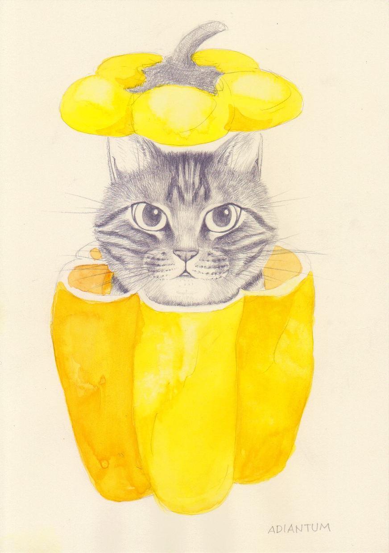 かわいい猫の絵を描きます 猫が大好きな方、思い出のペットをやさしいタッチで