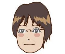 デフォルメした似顔絵作成します。アイコンや名刺に!