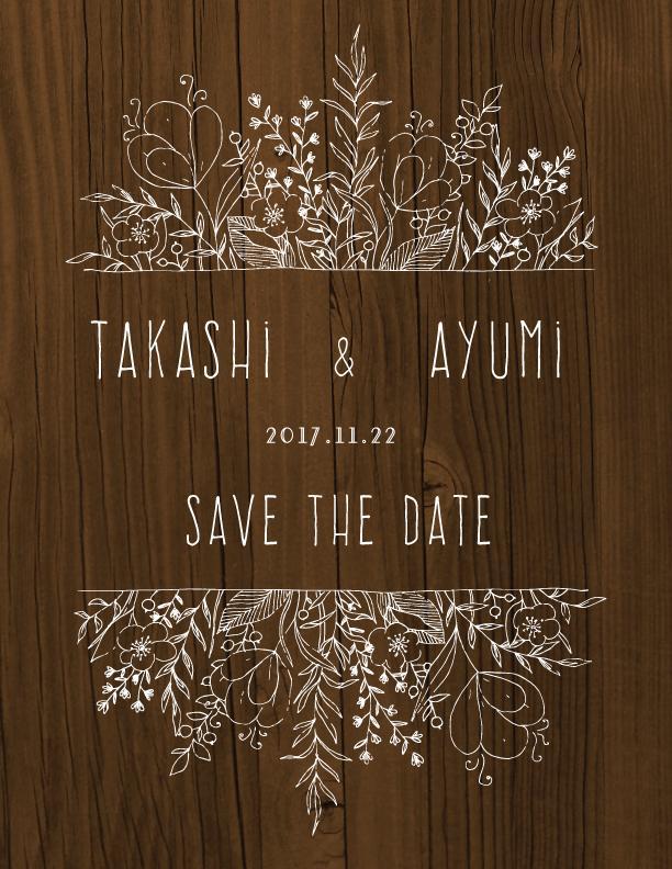Save the date 作ります 結婚パーティーが決まった方へ♥