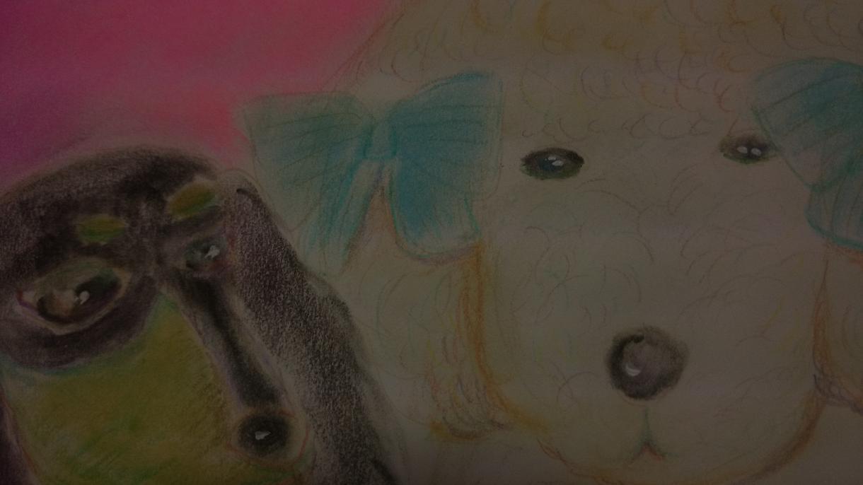 動物イラストかきます 動物イラストを、メルヘン風にアレンジして描きます。