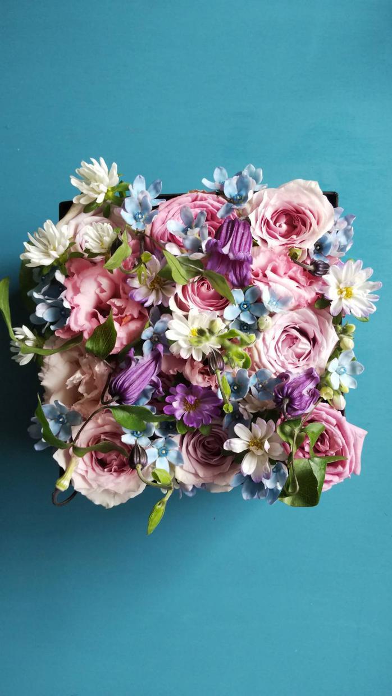 ヒーリングフラワーボックス作ります 自分自身に合ったお花のエネルギーで癒しの空間を