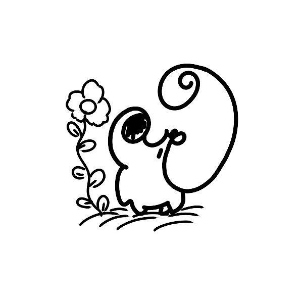 SNSのアイコンでシンプルな動物のイラスト描きます シンプル!ゆるかわ!な動物のイラスト描きます。