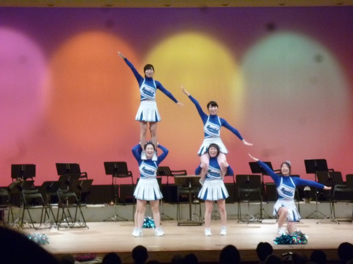 チア指導者がダンスの振り付けします お遊戯、余興などレベルに合わせたダンスを振り付けします!