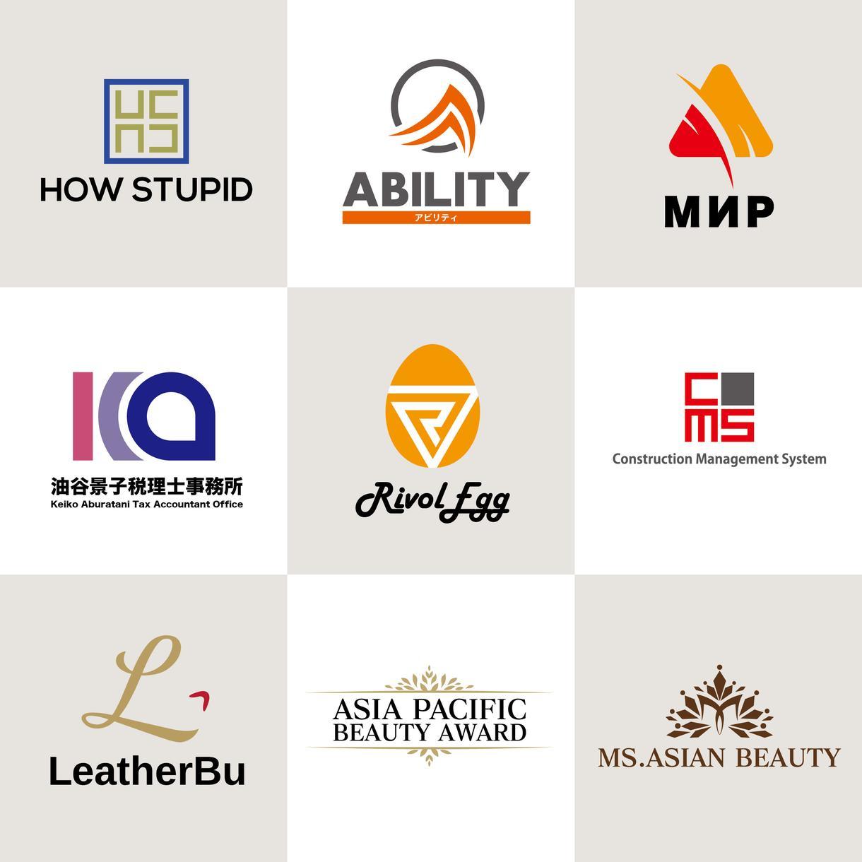 プロデザインのロゴ作成いたします 店舗ロゴ、企業ロゴなどaiデータ納品可能
