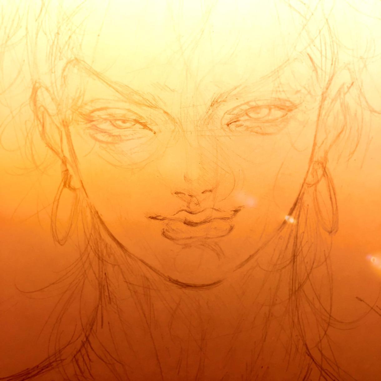 ペン入れ、加工代行いたします 【命をふきこまれたあなたの絵は、きらきら輝く】