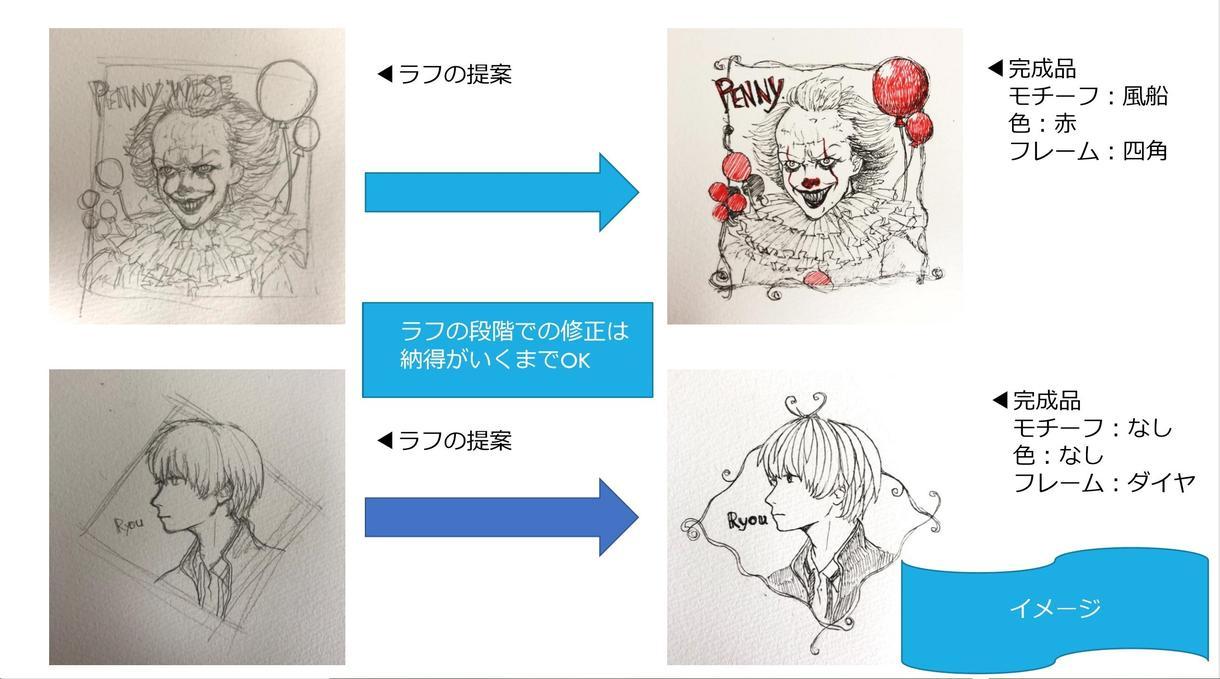アイコンイラスト描きます 低価格で単色シンプルアイコン用イラストを作成します。