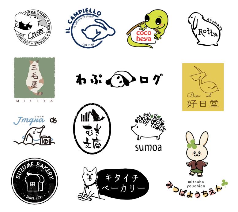 動物ロゴ専門です!【キャンセル可】でお作りします 後悔したくない方へ…!初めての方にも丁寧にご対応致します。