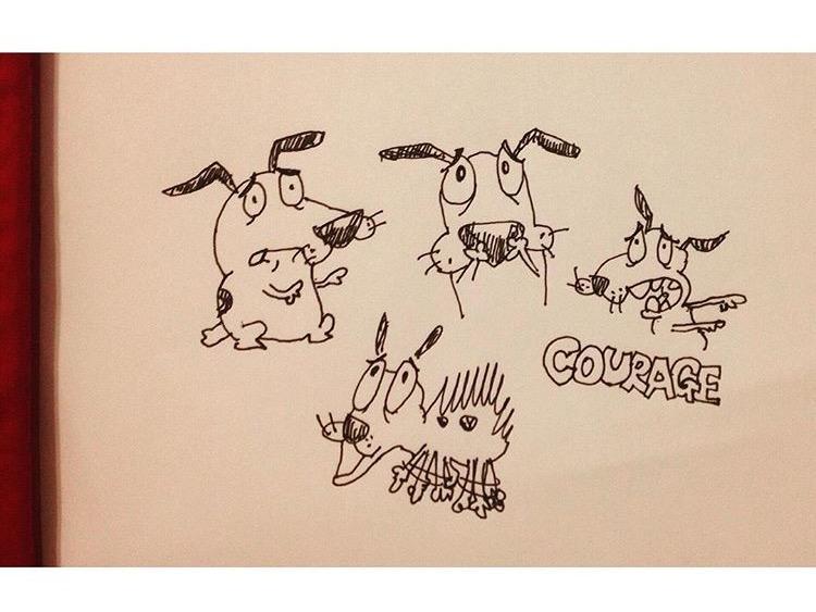SNSのアイコン、挿絵、パッケージ…ペンで描いた味のあるイラスト描きます!