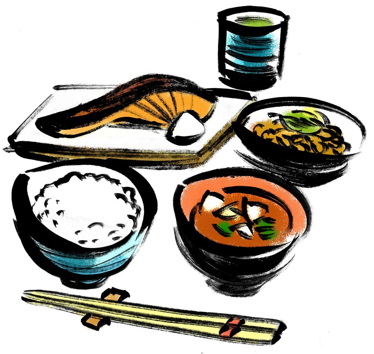 食品・食材・メニューイラストを描きます 50店舗さま以上に販売実績があります!まとめお値引きあり