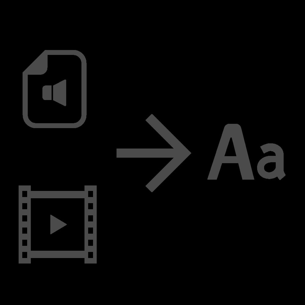 音声・動画からテキストを作成します ちょっとした音声・動画(20分まで)を500円でテキスト化! イメージ1
