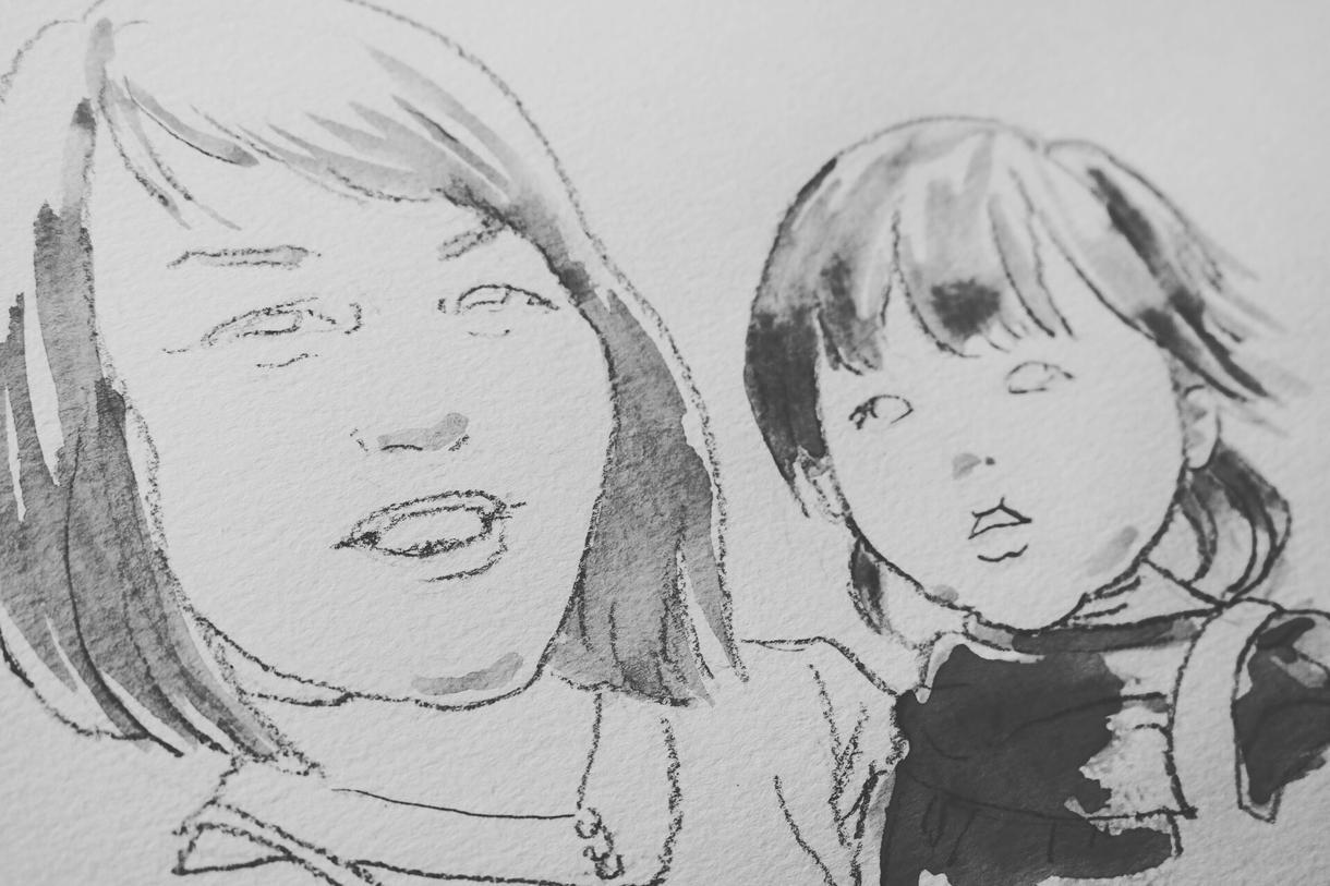 優しい水彩画タッチの似顔絵をお描きします 大切な人への贈り物、SNSアイコン、名刺用に…☆