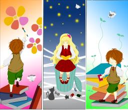 アイコン・年賀状・しおりなどのイラストを描いています!
