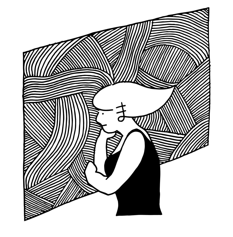 味のあるモノクロの線画なんでも描きます 手描きのふくよかな線が持ち味です イメージ1