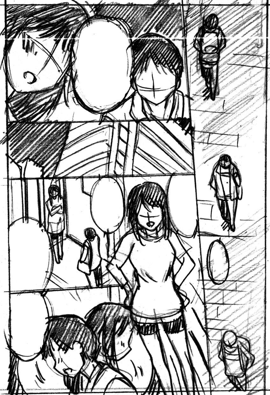 DM必須!ストーリー漫画のネーム描きます ベテラン漫画家があなたのアイディアをネームにします