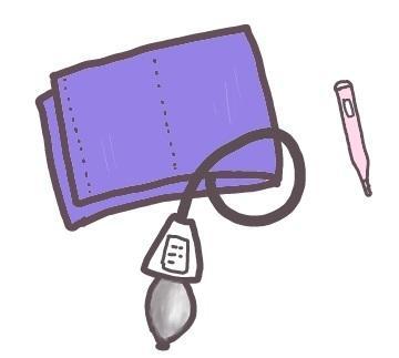 看護や介護の場に使える、ゆるいイラスト作成します 説明用パンフレットや仕事の資料にイラストカットがほしい方へ!