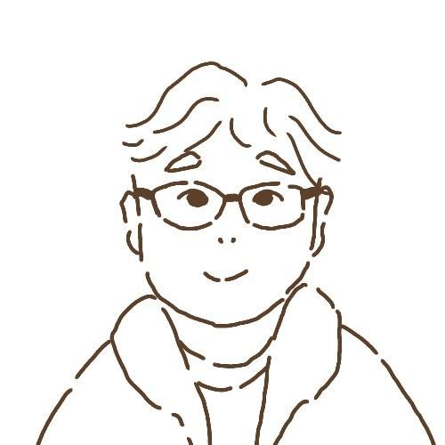 シンプル絵本風な似顔絵アイコン描きます SNSで使いやすいものをお探しの方に