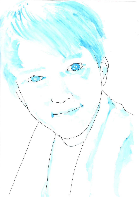 写真をもとにあなた用の似顔絵イラスト作成致します 希望により多色着色(水彩)を致します。 イメージ1