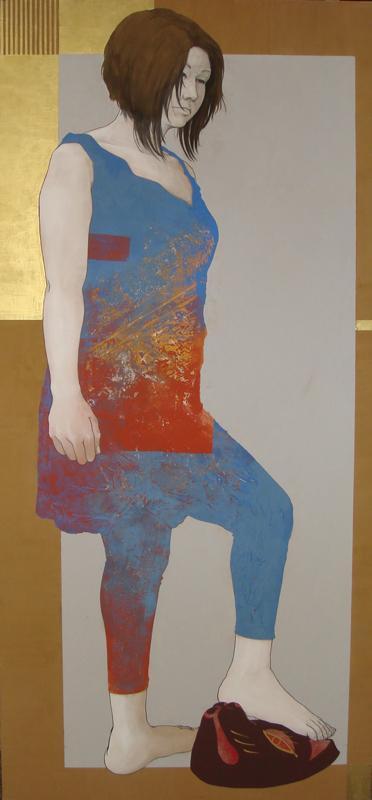 日本画風・アクリル絵の具風の似顔絵描きます。