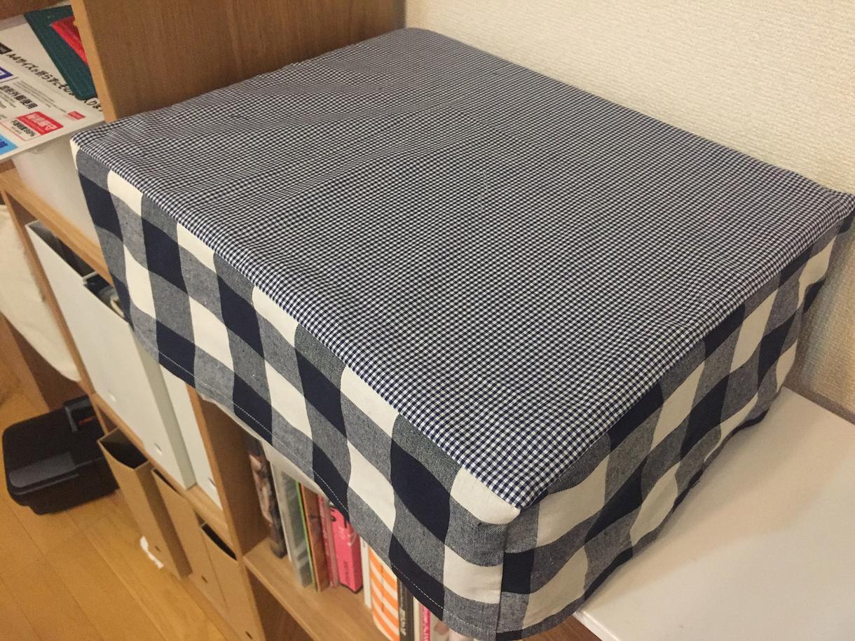 カワイイ布でピッタリのカバーを作成します 家電や家具にサイズがピッタリのカバーを一点もので作成します