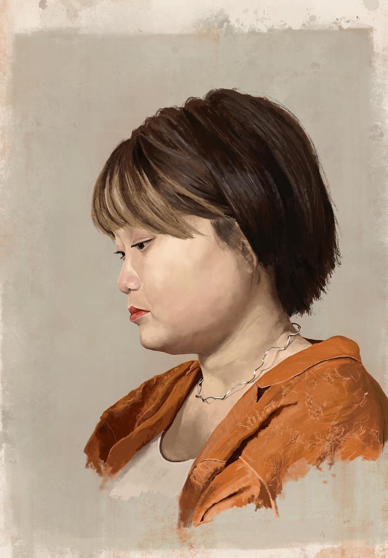 デジタルで肖像画を制作します イラストとは違った重厚感を演出することができます! イメージ1