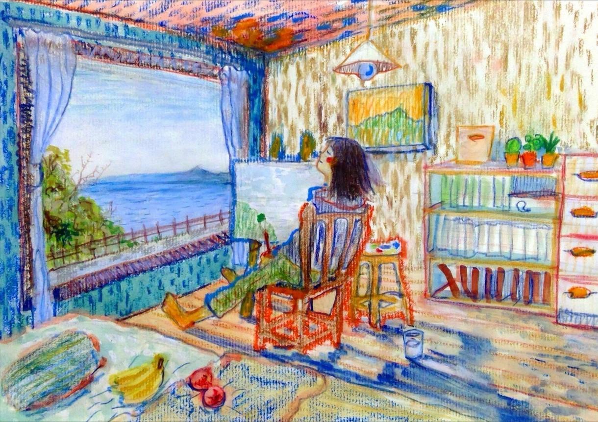 海の生き物や風景、女の子などの絵描きます 部屋に絵を飾りたい人や絵を誰かにプレゼントしたい方などへ