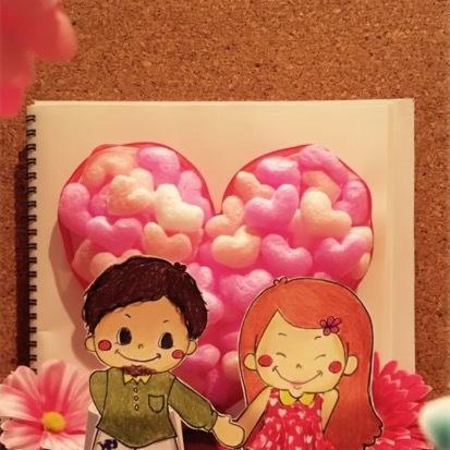 可愛いイラスト描きます 女の子、男の子を中心にイラストを書きます。