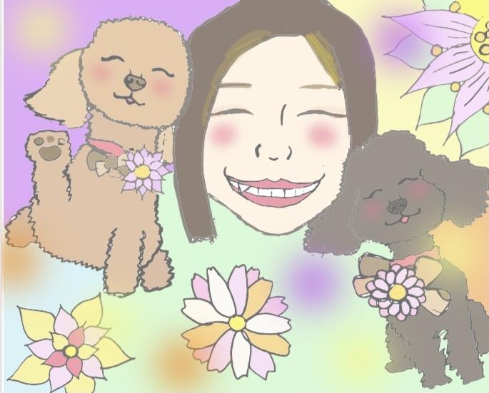 愛するペットの似顔絵描きます 癒し系のタッチです!!日常の癒しに!!!! イメージ1