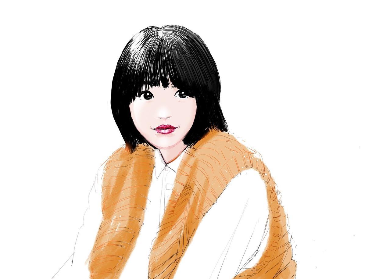 マンガチックからリアルな似顔絵やイラスト描きます どことなく暖かみのある線画にシンプルな着色が特徴的です。