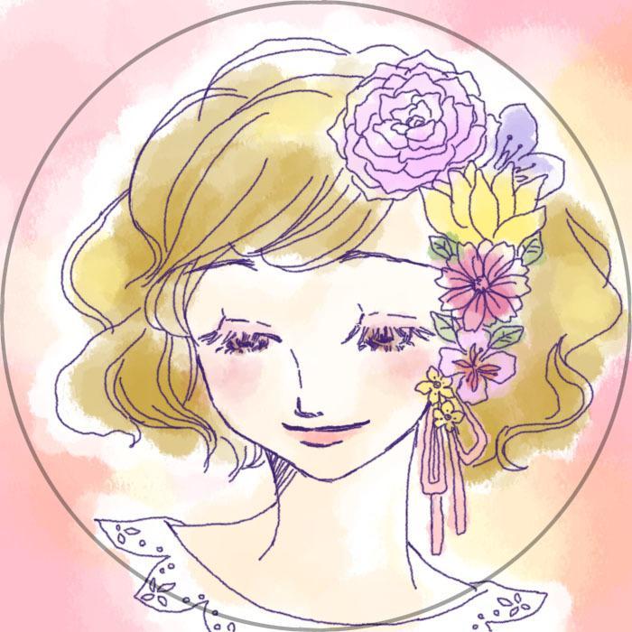 水彩風の優しい雰囲気のSNS用アイコン作成します あなたの似顔絵をキャラクターデザイナーが描きます