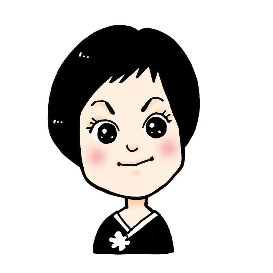 いただいた顔写真をシンプルなアイコン風にします 可愛らしく、カッコよくシンプルに描きます
