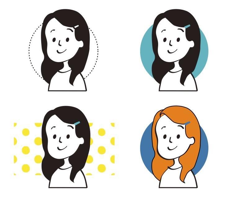 大人の方向け!シンプルな似顔絵描きます SNSのアイコンや名刺にどうぞ!シンプルでおしゃれな似顔絵