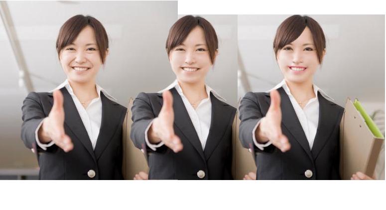 若返らせます。 別人にします ☆経営者必見☆スタッフを画像加工で別人にして広告物に使えます