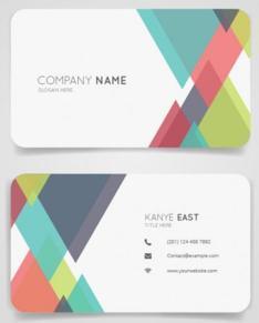 相手に印象が残るデザイン名刺を制作します 現役デザイナーがオールジャンル柔軟に対応致します。