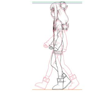 初心者の為のアニメ作画、アドバイスします 自分の絵を動かしてみたい方、アニメーターが丁寧に指導します