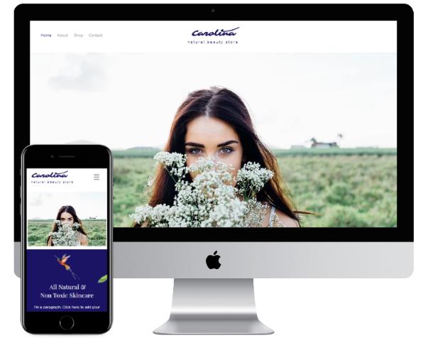 個人事業主・中小企業向けホームページ制作します 【Wix使用】企画構成デザイン、画像、説明テキストまで対応 イメージ1