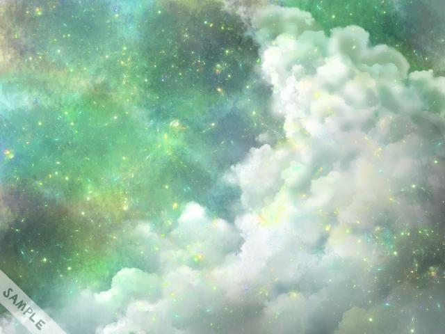 幻想的な空を描きます イメージ1