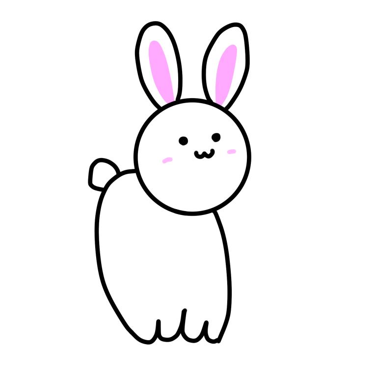 ゆるかわいい動物イラスト描きます みんなが癒されるような可愛いフォルムの動物です