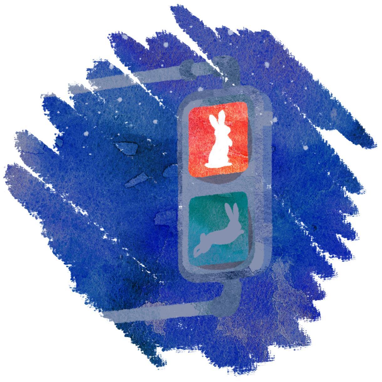 ザラザラ感のある水彩タッチでイラストをお描きします ちょっとしたイラストカットがほしい方へ