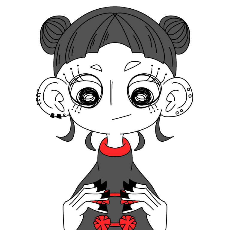 ご希望のイラスト描きます SNS上で使用しやすい似顔絵アイコン