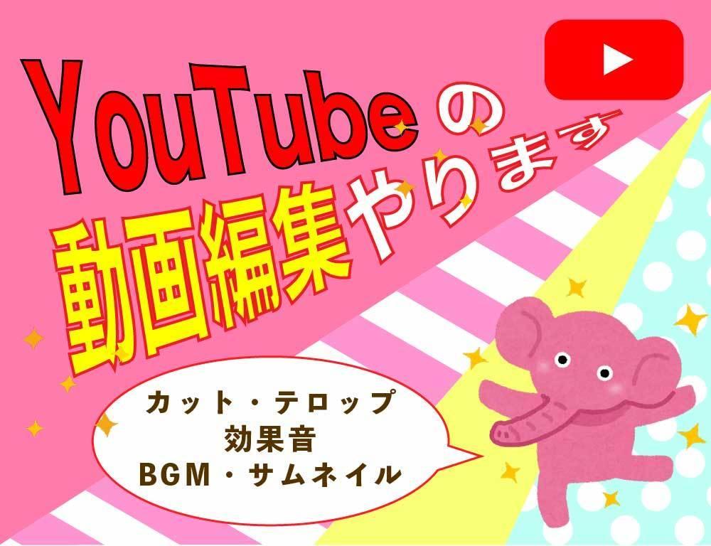 YouTube▼日常系・エンタメ系動画編集やります ▶︎料理・エンタメ・ボカロ、など ご要望に合わせて作ります イメージ1