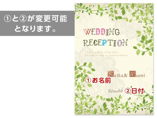 結婚式ウェルカムボードオーダーメイド☆