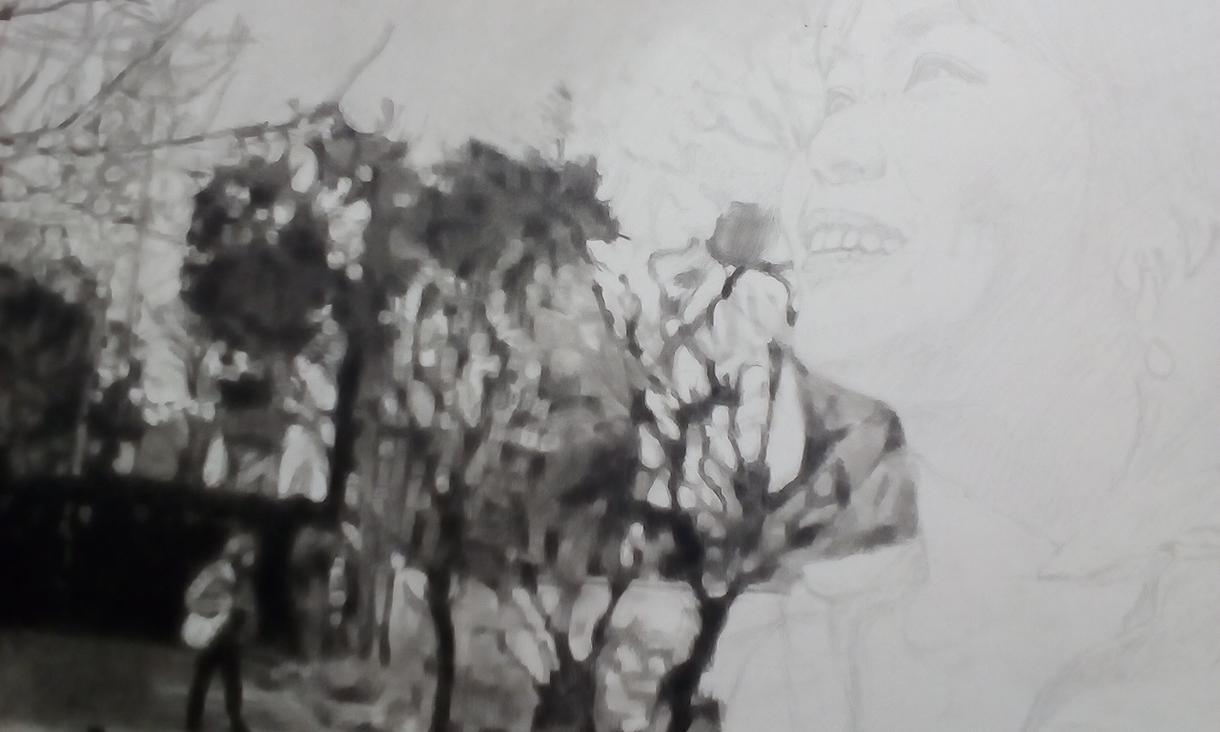 鉛筆画  デッサンを描きます イベントや撮影などにいかがでしょうか?鉛筆を使う細密画です。